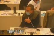 Conseil métropolitain du 20 novembre 2020 : intervention de Laurent Thoviste sur le Cairn