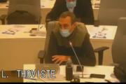 Conseil métropolitain du 20 novembre 2020 : intervention de Laurent Thoviste sur la politique solidaire des réfugiés