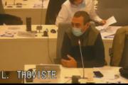Conseil métropolitain du  novembre 2020 : intervention de Laurent Thoviste sur le vœu sur la Bastille