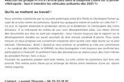 Communiqué de presse : Qu'ils se mettent au travail - Réaction du groupe MTPS à l'article paru dans le Dauphiné Libéré du 13 janvier «Métropole : faut-il interdire les véhicules polluants dés 2021 ?»