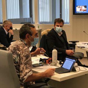Vidéo de l'intervention de Laurent Thoviste sur le projet de construction de siège - Conseil métropolitain du 29/01/21