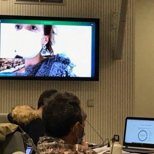 Vidéo de l'intervention de Sabine Leyraud sur le plan d'actions 2021 de la politique du logement d'abord - Conseil métropolitain du 29/01/21 -