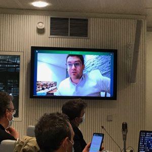 Vidéo de l'intervention de Franck Longosur le rapport de situation en matière d'égalité femmes-hommes - Conseil métropolitain du 29/01/21