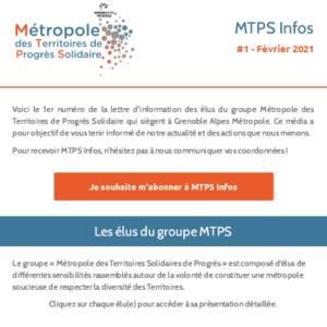 MTPS Infos #1 - Février 2021