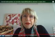 Vidéo de l'intervention de Joëlle Hours sur le futur planétarium de Pont-de-Claix lors du conseil métropolitain du 12 mars 2021