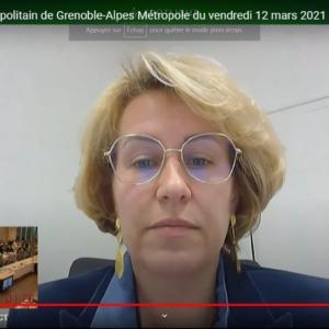 Vidéo de l'intervention d'Emilie Chalas sur le voeu proposé par UMA demandant la réouverture des équipements culturels et sportifs