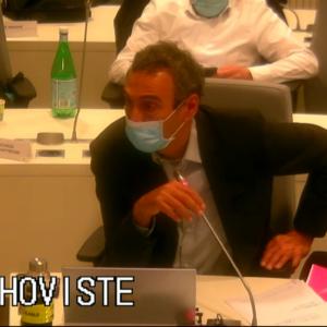 Vidéo de l'intervention de Laurent Thoviste sur les vœux proposés par UMA demandant la réouverture des équipements culturels et sportifs