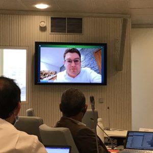 Vidéo de l'intervention de Franck Longo sur le programme d'actions sécurité et prévention de la délinquance 2021